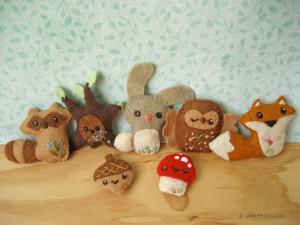 Mini Woodland Animals