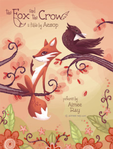 The Fox and the Crow cover art