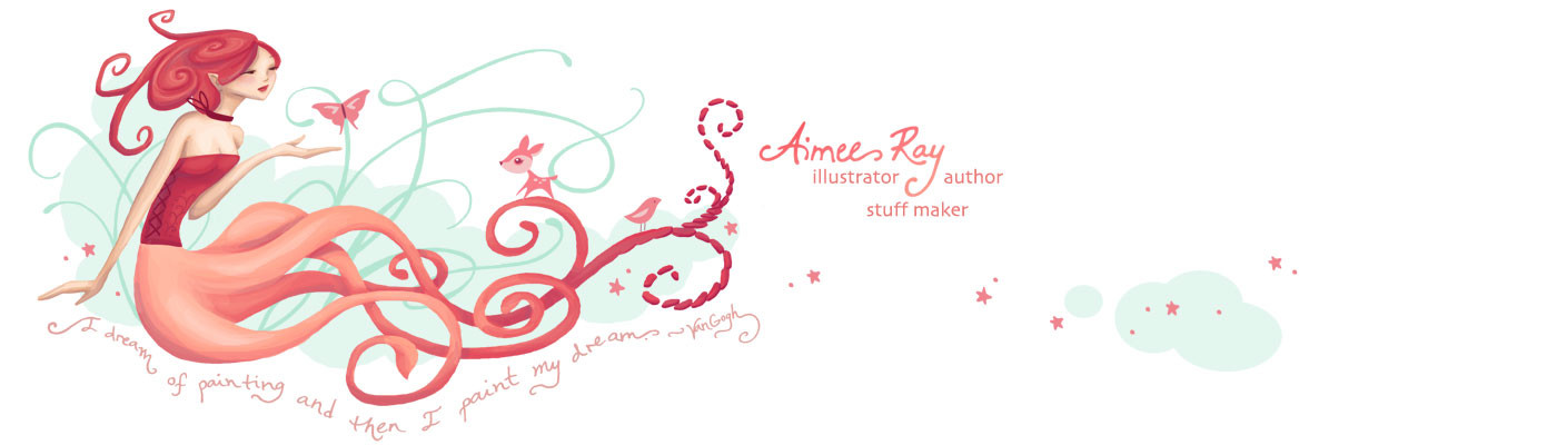 The online portfolio of Aimee Ray