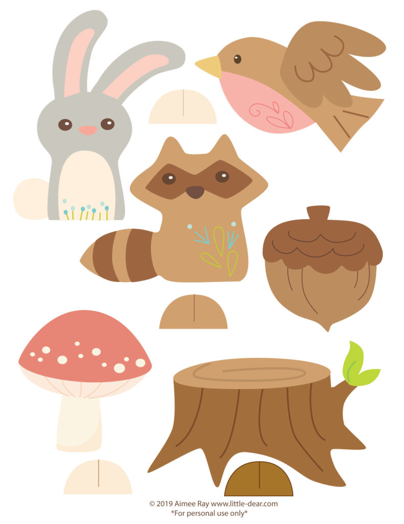 Can Use Them To Make Garlands Cards Cupcake Toppers Signs Finger Puppets Place Cardore They Are Just As Fun Display